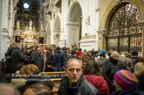 Santuario di Montevergine (Mercogliano AV). La celebrazione della Candelora nella Chiesa Vecchia.