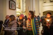 Santuario di Montevergine (Mercogliano AV). La celebrazione della Candelora. La processione arriva nella Chiesa Nuova