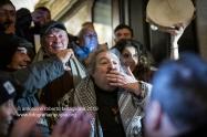 Santuario di Montevergine (Mercogliano AV). Musica e danze per la festa di Mamma Schiavona. Il cantante Marcello Colasurdo saluta i fans.