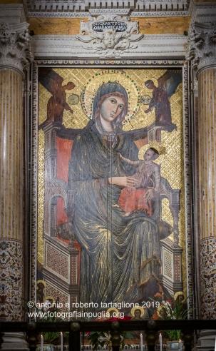 Santuario di Montevergine (Mercogliano AV). L'Icona della Madonna nera di Montevergine
