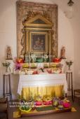 La Cappella della Provvidenza addobbata per la Settimana Santa - Sant'Arcangelo (PZ)