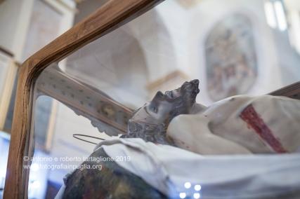 La Chiesa Madre di San Nicola a Sant'Arcangelo, la sera del Giovedì Santo