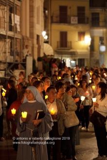 Pietrelcina (BN), fiaccolata per la commemorazione della morte di San Pio da Pietrelcina (23 settembre 1968)