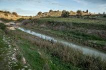 Taranto (TA); veduta del Canale d'Aiedda che va dal Mar Piccolo alle campagne di Montemesola.