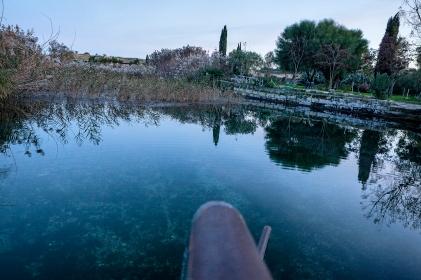 Taranto (TA); Il fiume Cervaro vicino all'Antico Convento dei Battendieri