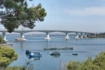 "Taranto (TA); il ponte ""Aldo Moro"" (1977) detto Ponte di Punta Penna"