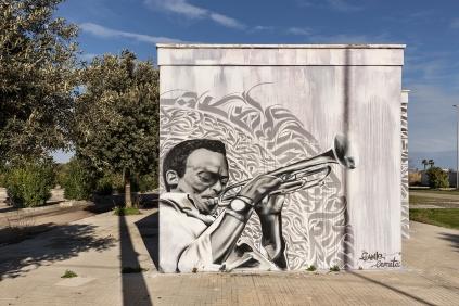 Casalabate (LE) Murale di GIANLE 1/2 & Davide - 2016