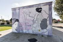 Casalabate (LE) Murale di GNRDR - 2016