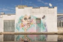 Casalabate (LE) Murale di SoFreeSo (Sofia Frei) - luglio 2019