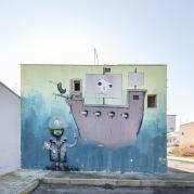 Casalabate (LE) Murale di Fijodor Benzo - luglio 2019