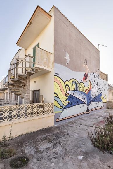 Casalabate (LE) Murale di Franko Dine - luglio 2019