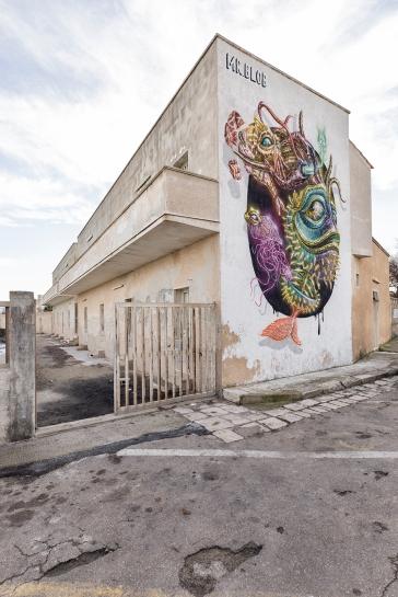 Casalabate (LE) _Murale di MrBlob
