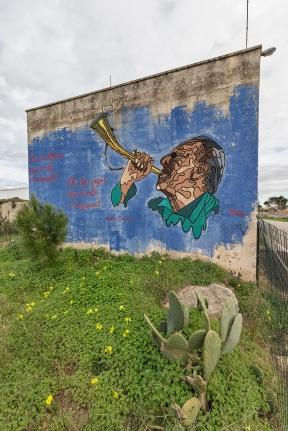 Casalabate (LE) Murale di Red Stencil
