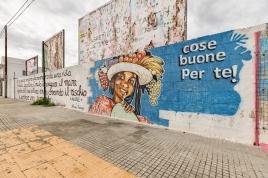 Casalabate (LE) Murale di Au Osce - 2019