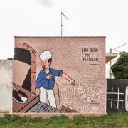 Casalabate (LE) Murale di Frank Lucignolo - luglio 2019