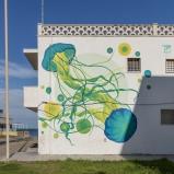 Casalabate (LE) Murale di Majilina